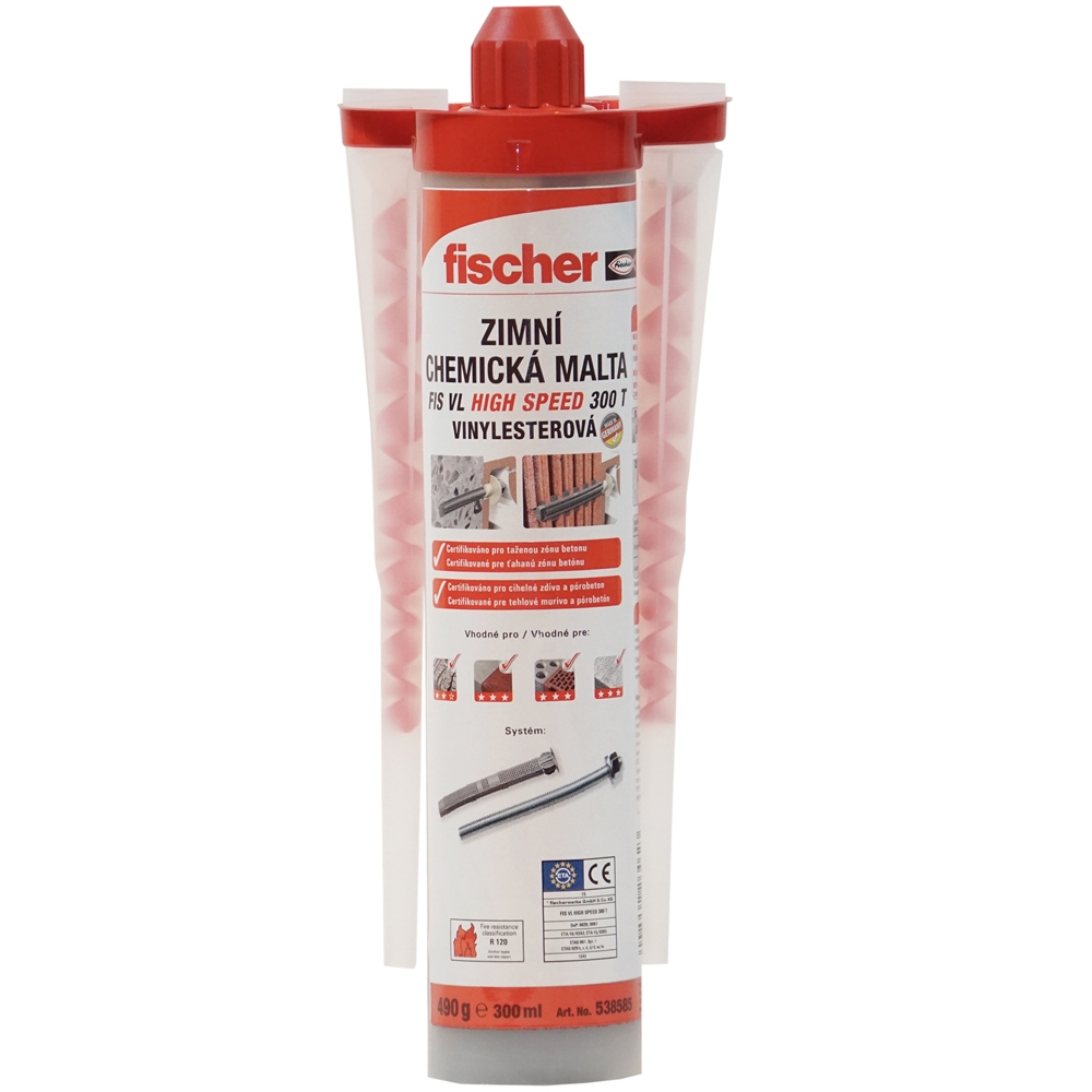 FISCHER CHEMICKÁ MALTA FIS VL 300 T HIGH SPEED with clip
